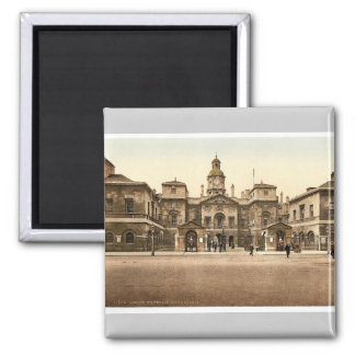 Whitehall, horse guards, London, England rare Phot Magnet