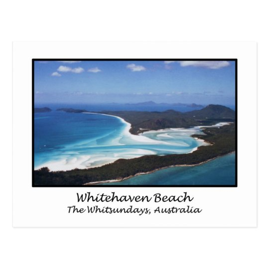 Whitehaven Beach, The Whitsundays, Australia Postcard ...