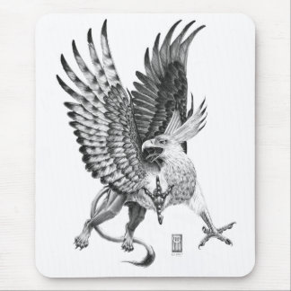 Whitehead Griffin Mouse Pad