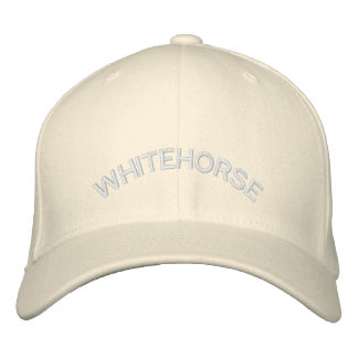 Whitehorse Baseball Cap Embroidered Canada Cap