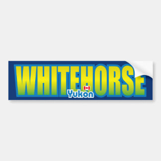 Whitehorse Bumper Bumper Sticker