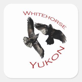 Whitehorse, Yukon Square Sticker