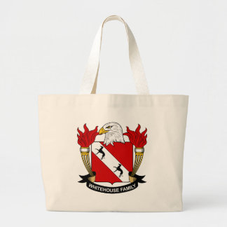 Whitehouse Family Crest Tote Bags