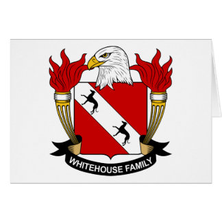 Whitehouse Family Crest Greeting Cards