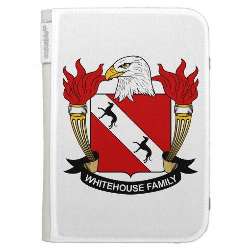 Whitehouse Family Crest Kindle 3 Cases