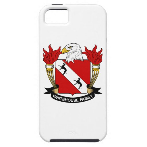 Whitehouse Family Crest iPhone 5/5S Cover