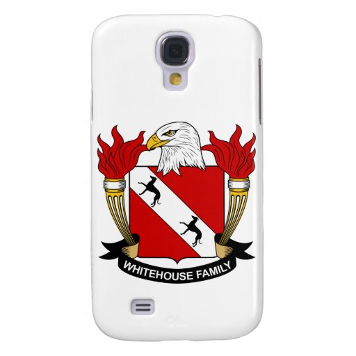 Whitehouse Family Crest Samsung Galaxy S4 Covers