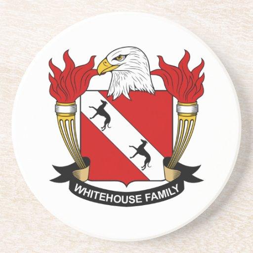 Whitehouse Family Crest Coaster