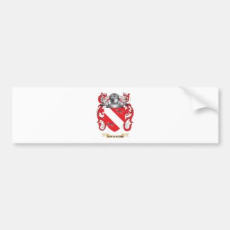 Whitehouse Family Crest (Coat of Arms) Bumper Sticker