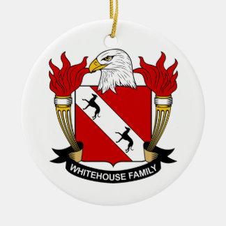 Whitehouse Family Crest Christmas Tree Ornament