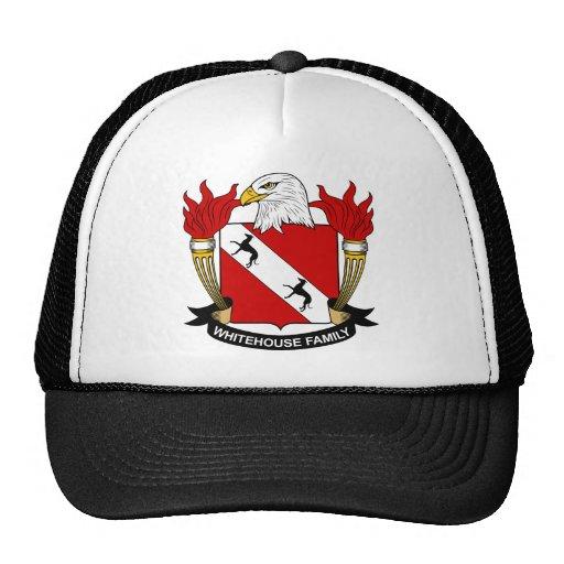 Whitehouse Family Crest Trucker Hats