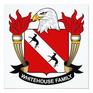 Whitehouse Family Crest Custom Invites
