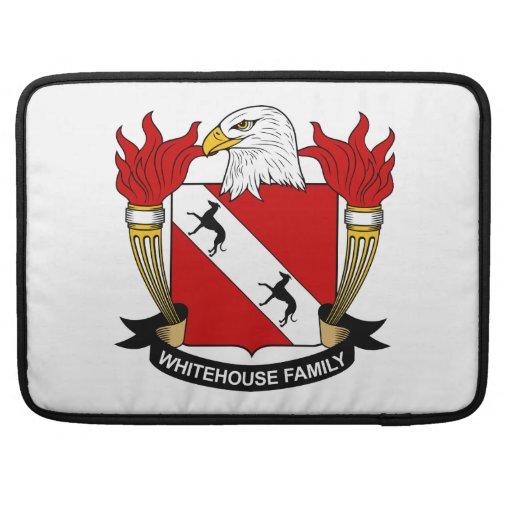 Whitehouse Family Crest MacBook Pro Sleeve