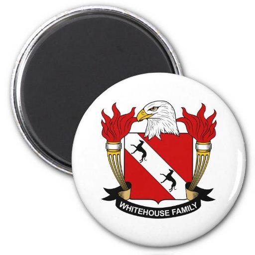 Whitehouse Family Crest Magnet