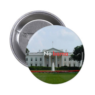 whitehouse_front, No , bama 6 Cm Round Badge
