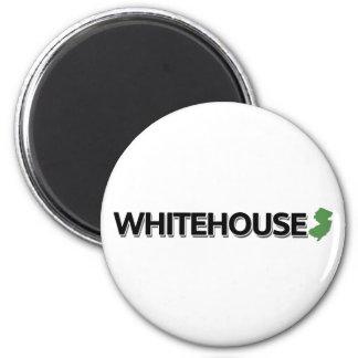 Whitehouse, New Jersey 6 Cm Round Magnet