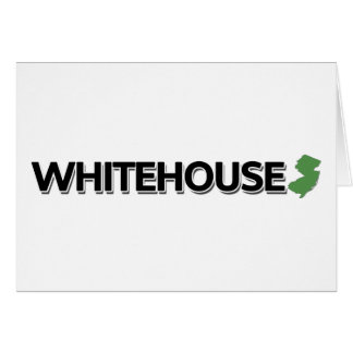 Whitehouse, New Jersey Greeting Card