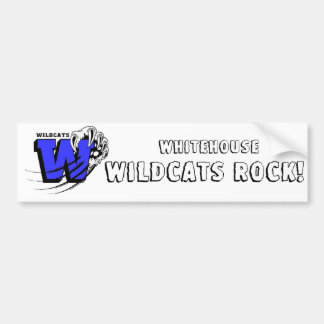 Whitehouse Rocks Bumper Sticker Car Bumper Sticker