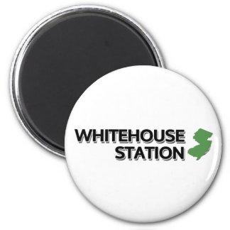 Whitehouse Station, New Jersey 6 Cm Round Magnet