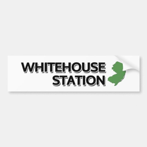 Whitehouse Station, New Jersey Bumper Stickers