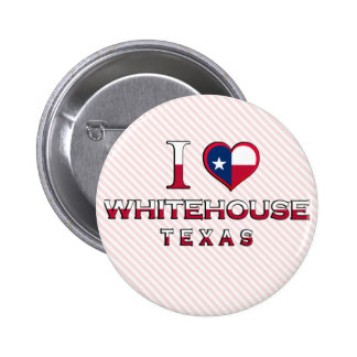 Whitehouse Texas Pinback Buttons