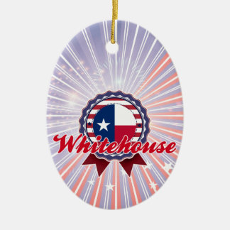 Whitehouse, TX Christmas Tree Ornaments
