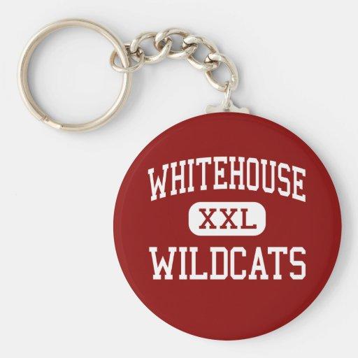 Whitehouse - Wildcats - High - Whitehouse Texas Keychains