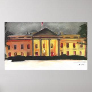 Whitehouse winter poster