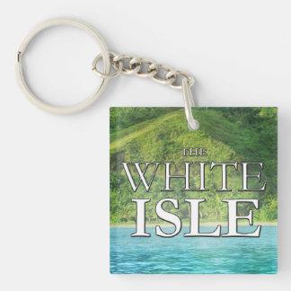 WhiteIsleGems Keychain