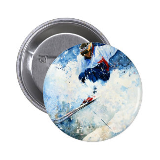 whitemagic15.jpg 6 cm round badge