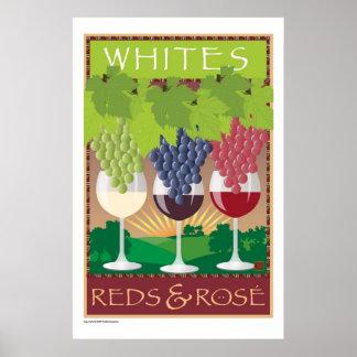 Whites Reds Rosé-Print