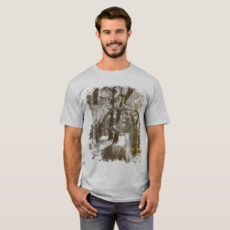 WhiteTail Deer,  Alert Bucks, T-Shirt