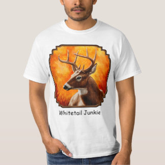 Whitetail Deer Buck Hunting T-shirts