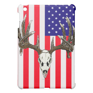 Whitetail deer skull 1 cover for the iPad mini