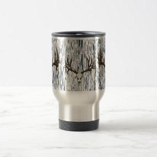 Whitetail deer skull 1 coffee mug