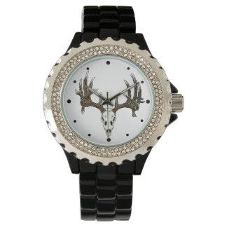 Whitetail deer Skull 2a Watch