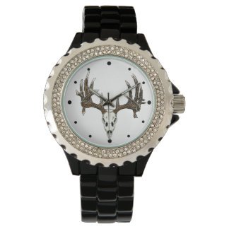 Whitetail deer Skull 2a Watches
