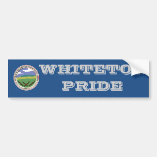 Whitetop Pride Bumper Sticker