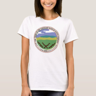 WHITETOP TRIBE'S LARGE SEAL WOMEN'S BASIC T-SHIRT
