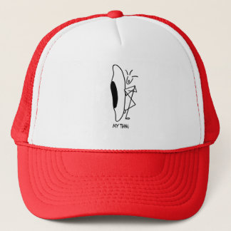 whitewater kayaking my thing trucker hat