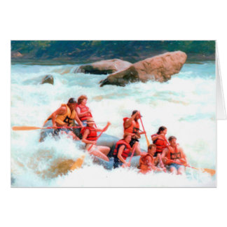 Whitewater Rafting Card