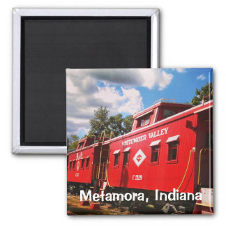 Whitewater Valley Railroad Magnet