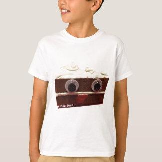 whitey chocolate cake face with logo T-Shirt