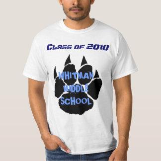 Whitman 8th Grade Grad. T-Shirt 1