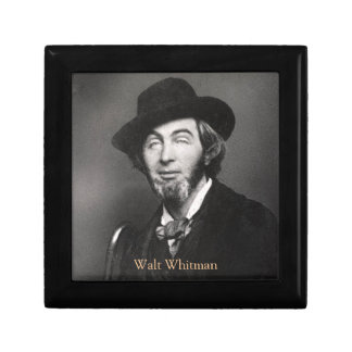 Whitman in New York 1848 Small Square Gift Box