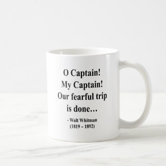 Whitman Quote 8a Coffee Mug