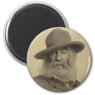 Whitman The Good Grey Poet Magnet