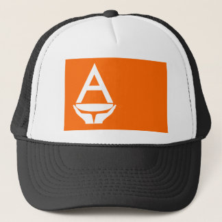 Whitney Smith flag Antarctica Trucker Hat