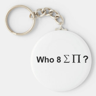 Who ate all the pies. key ring