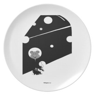 Who Ate the Cheese Decorative Plate